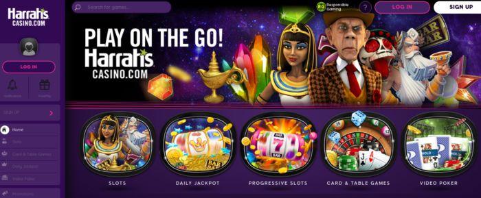 Harrahs Casino NJ - Games