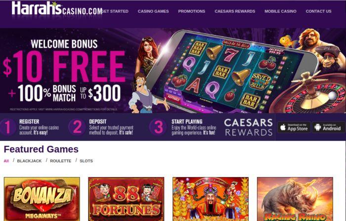 Harrahs Casino Nj Online Site
