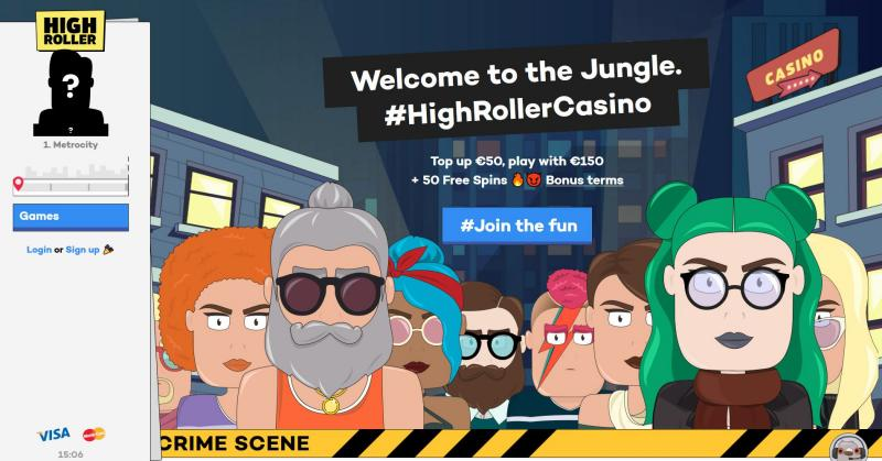 High Roller Casino Online Casino