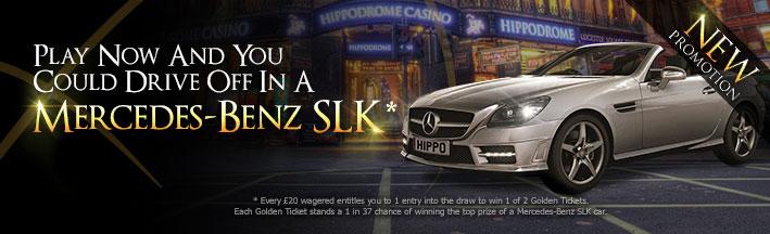 Win a Mercedes-Benz SLK - The Hippodrome Online Casino