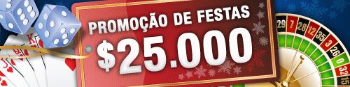 Promoção de Festas - Ganhe $25000 !