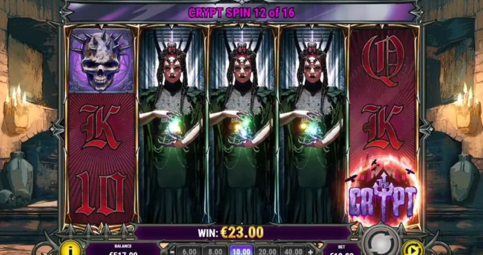 House Of Doom 2 The Crypt Slot Game Free Spins