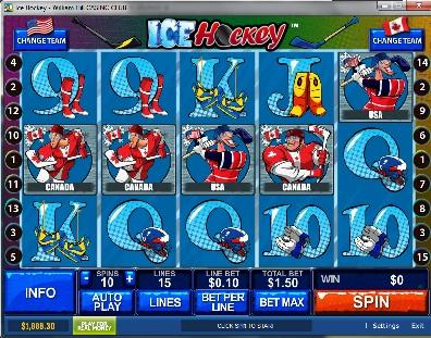 Ice Hockey Slot