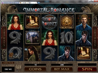 Immortal Romance - jogo Video Slot
