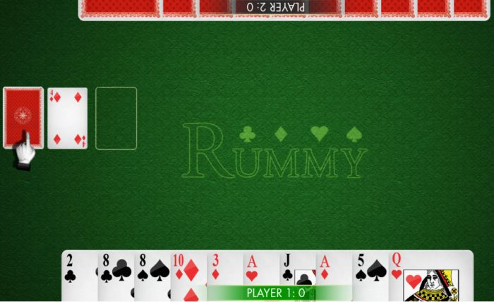 Free multiplayer Rummy game