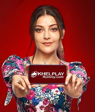 Kajal Aggarwal with Khelplay Rummy