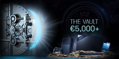 InterCasino promotion - The Vault