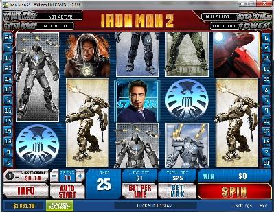Iron Man Two Slot