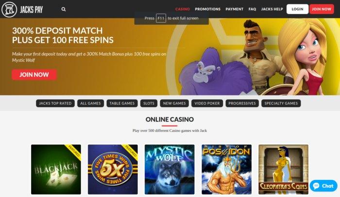 JacksPay Casino