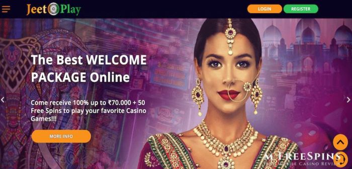 JeetPlay Casino India review
