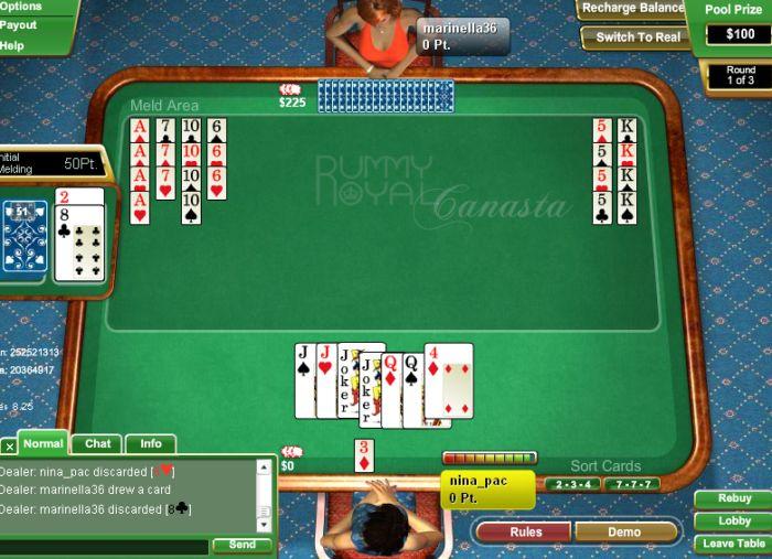 Jogar Canastra Online Valendo Dinheiro Real