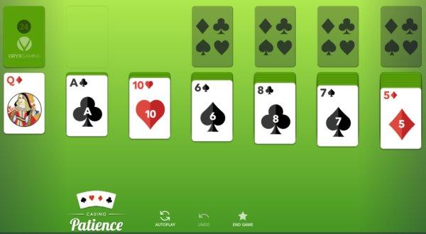 Jogar PACIÊNCIA valendo dinheiro
