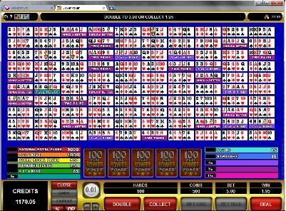 Joker Poker 100 Play Power Poker