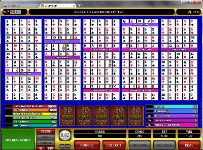 Joker Poker 50 Play Power Poker