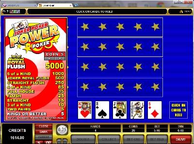 Joker Poker Four Play