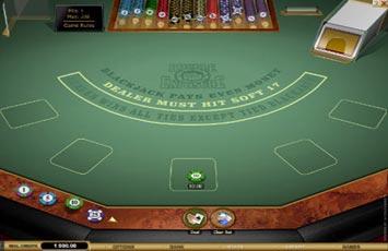 Jugar Blackjack Double Exposure Blackjack