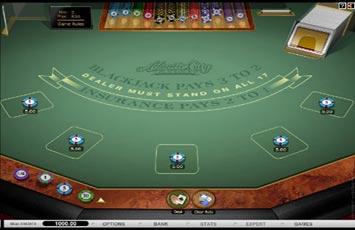 Jugar Blackjack Multihand Atlantic City Blackjack