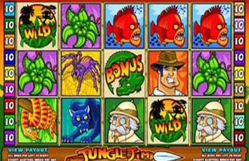 Jungle Jim Slot Game Microgaming