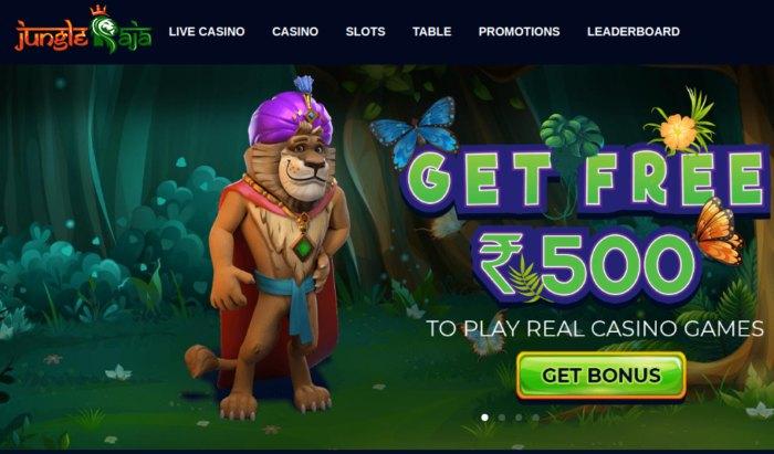 Jungle Raja Casino India