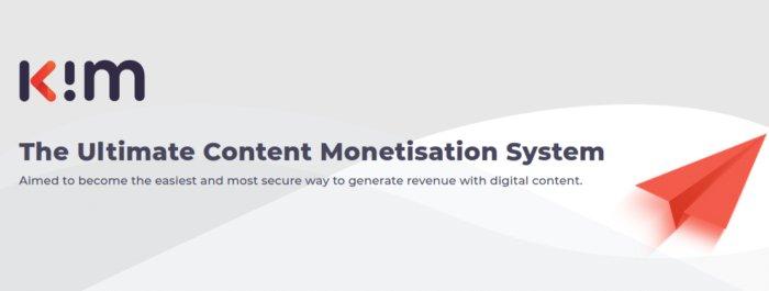 Content Monetization Platform - K.im