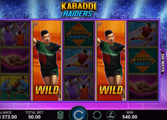 Kabaddi Raiders Slot Game Indi Slots