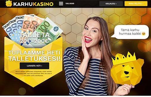 Karhukasino Suomi Casino