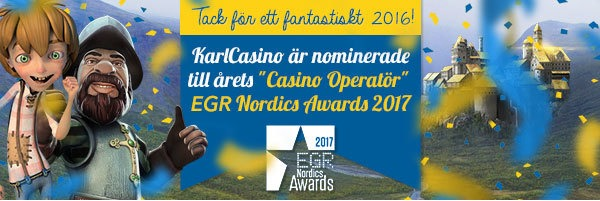 Karl Casino - Nordics awards