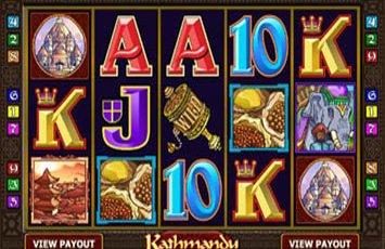 Kathmandu Slot Game Microgaming