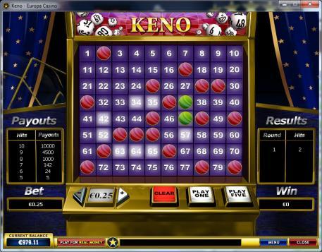 Online Keno Tipps auf Deutsch - Casinospiele, Glücksspiel