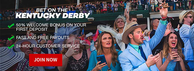 Kentucky Derby live odds at Bovada USA