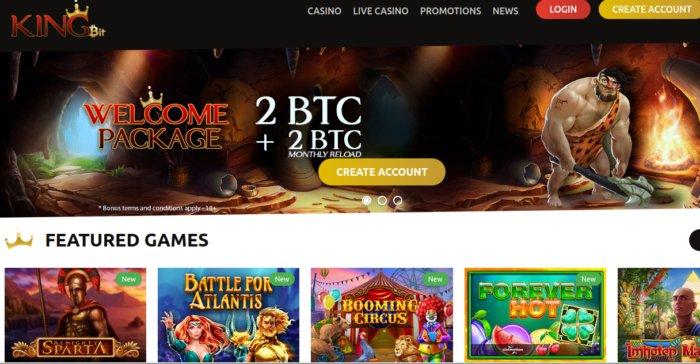 Kingbit Bitcoin Casino review