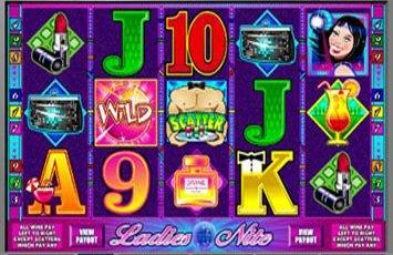 Ladies Nite Slot Game Microgaming