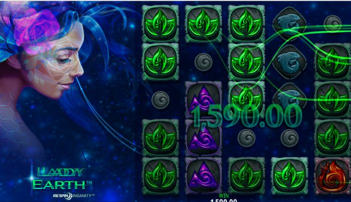 Lady Earth Slot Game Crazy Tooth Studio