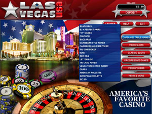 Las Vegas USA Casino - $500 to play