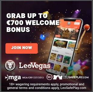 Leo Vegas Casino review - mobile casino