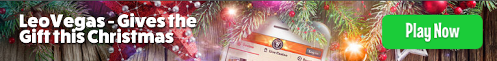 Leo Vegas mobile casino Christmas promotion