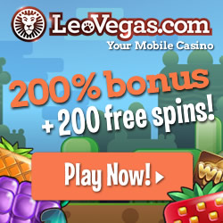 Leo Vegas mobile casino