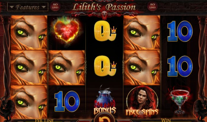 Liliths Passion slot game
