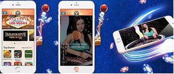 Leo Vegas - live Roulette mobile app