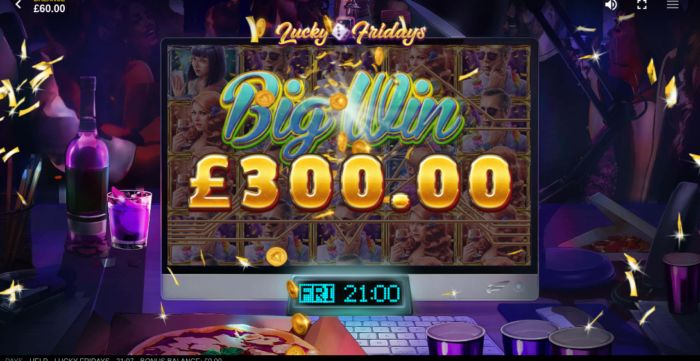 Lucky Fridays slot game review & free play