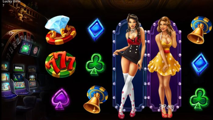 Lucky Girls slot game Evoplay