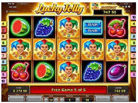 Lucky Jolly slot game - Stargames