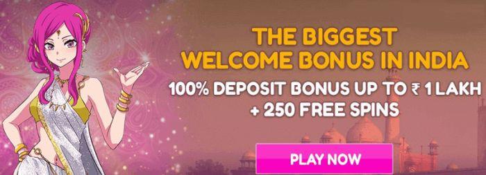 Lucky Niki Casino India Free Spins Bonus