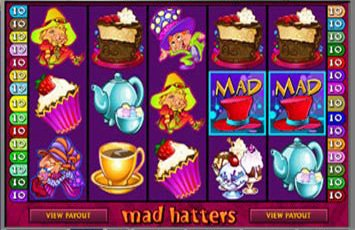 Mad Hatters Slot Game Microgaming