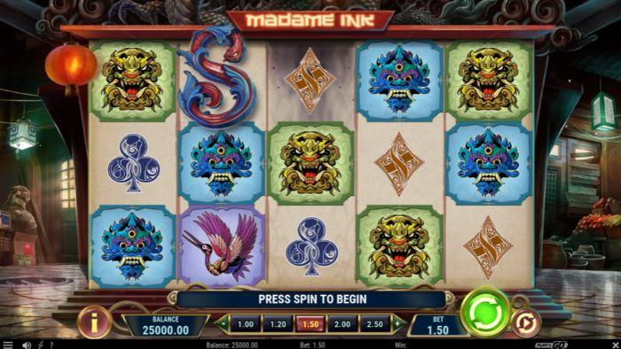 Madame Ink slot game review