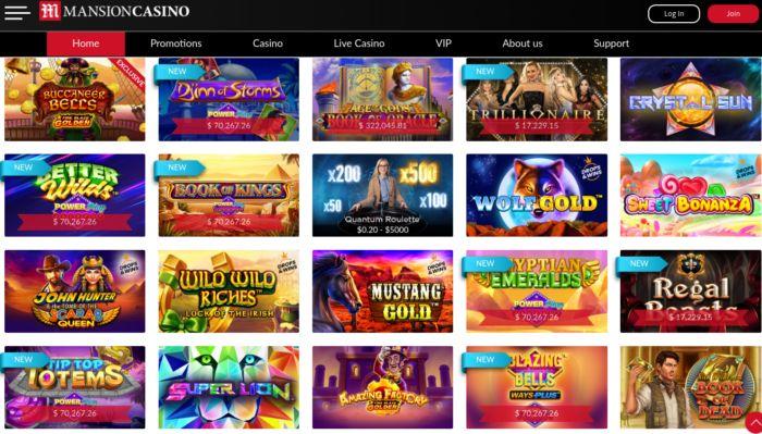 Mansion Casino Review Canada NZ Live Casino