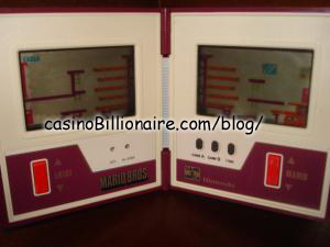 Mario Bros Nintendo Game & Watch
