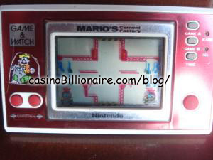 Mario Cement Factory Nintendo Game & Watch