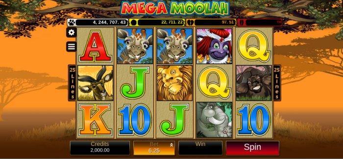 Mega Moolah slot game review