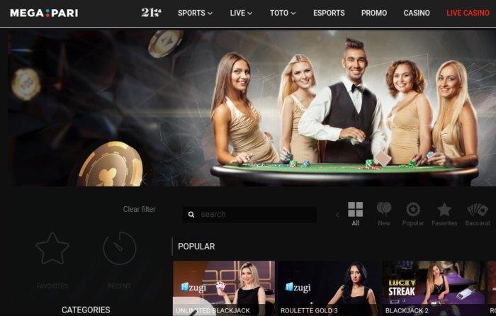 Megapari Casino and Sports